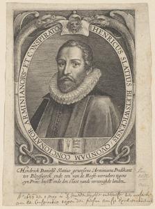 Portret van Hendrick Danielsz. Slatius (1585-1623)