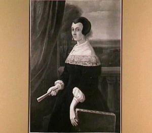 Portret van Elisabeth Danckerts (1611-1670)