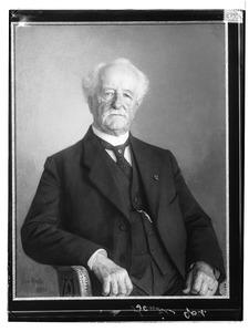 Portret van Wilhelmus Francois Leemans (1841-1929)