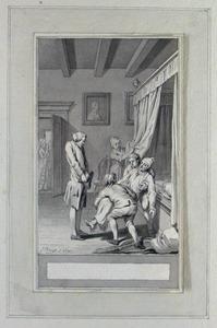 Illustratie bij 'Alcest' uit de Fabelen en vertelsels van F.C. Gellert