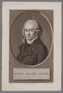 Portret van Henri Daniel Guyot (1753-1828)