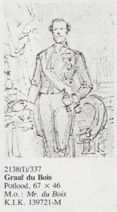 Portret van Henricus Carel du Bois (1814-1880)