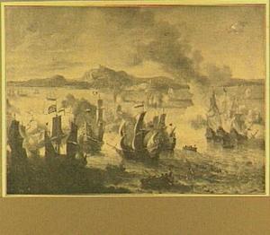 Zeeslag voor Goa tussen de Nederlandse en Portugese vloot, 1638