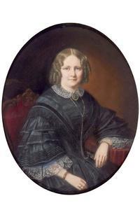 Portret van Johanna Cornelia Wilhelmina Kasse (1831-1903)