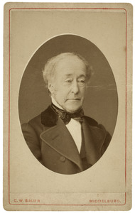 Portret van Willem Reinbrand Boddaert (1812-1888)