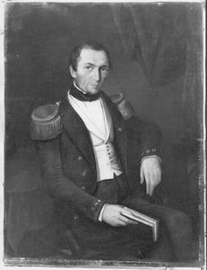Portret van Luitenant-ter-Zee 1e kl. jhr. Henri Jan Leopold Theodore de Vaynes van Brakell