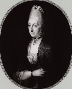 Portret van een onbekene vrouw