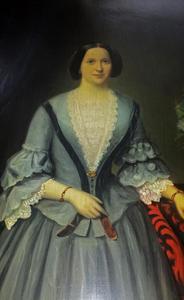 Portret van Christina Anthonia van Dorsser (1834-1911)