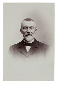 Portret van Johannes Pieter van Woerkom (1841-1935)