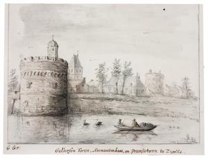 Zwolle, de Gelderse Toren, het Ammunitiehuis en de Provisietoren