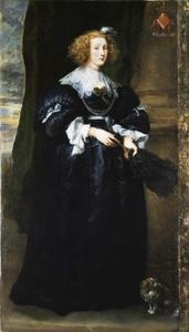 Portret van Maria de Raet (1614-1662)