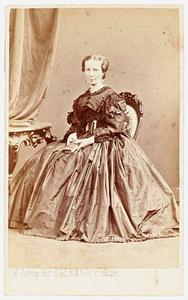 Portret van Jacoba Elisabeth de Man (1818-1909)