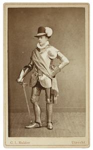 Portret van Jacob Eduard Ameshoff (1861-1946) als Heer van Beersele