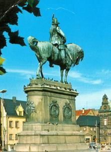 Ruiterstandbeeld van Karl X Gustav