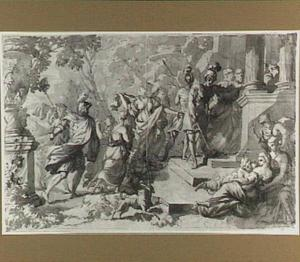 De Benjamieten nemen zich vrouwen uit de dansende dochters van Silo (Richteren 21:10-23)