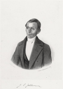 Portret van Jelle Eeltjes Jellesma (1816-1918)