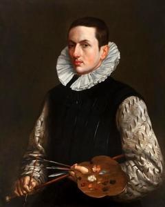 Portret van een man, mogelijk een zelfportret van de kunstenaar