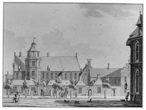 Het Provinciehuis met consistorie van de Martinikerk te Groningen