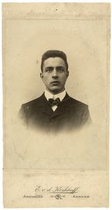 Portret van Gerrit Jan Mol (1882-1930)