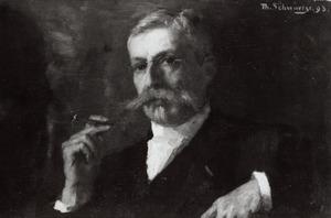 Portret van Anton Gillis Cornelis van Duyl (1829-1918)