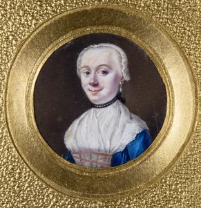 Portret van een vrouw, waarschijnlijk uit de familie Marinkel of Veenendaal