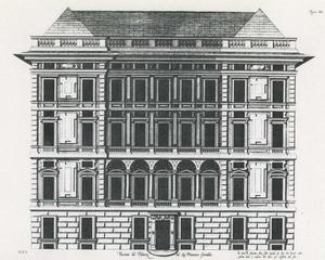 Palazzo Spinola: Plan van de gevel