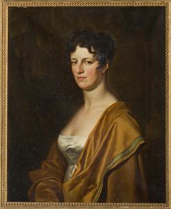 Portret van Augusta Leopolda Catharina barones van Pallandt (1778-1844)