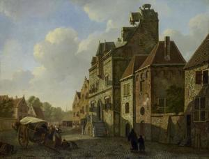 Het stadhuis van Dordrecht