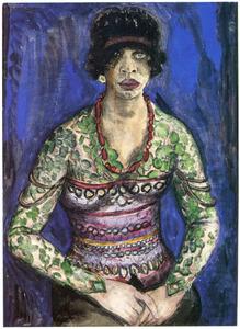 Portret van Gesina Antonia ('Tonia') Milgens (1881-1932)