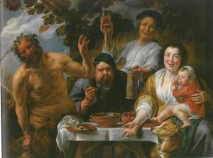 Fabel van de Sater en de boer
