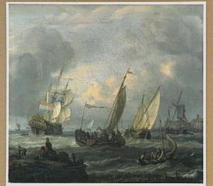 Scheepvaart op het IJ