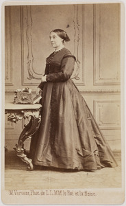 Portret van Catharine Frederica Augustina Alexandra van Hogendorp van Hofwegen (1811-1887)