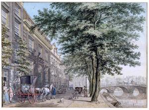 De Herengracht in Amsterdam, gezien in de richting van de Amstel