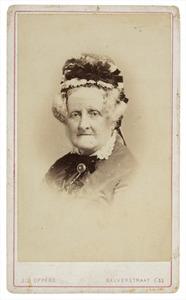 Portret van Alexandrina Geertruida Craandijk (1809-1886)