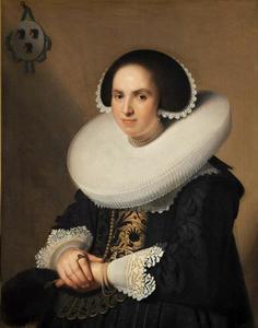 Portret van Wilhelmina van Braeckel (1605-1662)