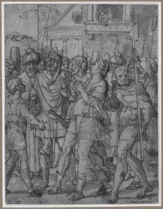 Suzanna door de getuigenis van de jonge Daniël gered (Daniël 13:42-49)