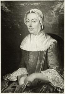 Portret van Johanna Lillie ( -1818)