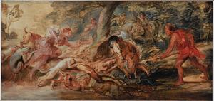 De Caledonische everzwijnjacht van Meleager en Atalanta