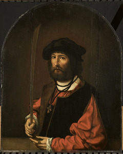 Portrait of Ruben Parduyn, knight of the order of Malta