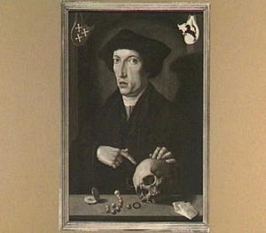 Portret van Damas of Jan van der Lindt