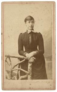 Portret van Dina Samuela van der Willigen (1864-1925)