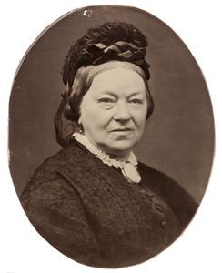 Portret van Adriana Maria van de Garde (1818-1889)