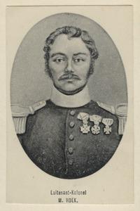 Portret van Melchior Hoek (1786-1869)