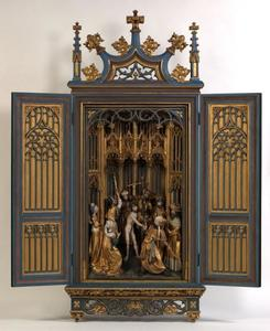 De geseling van St Adrianus