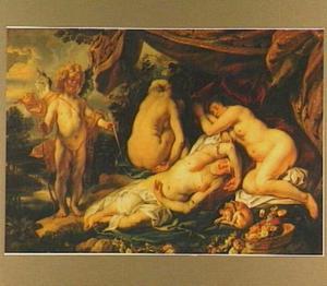 Cupido voor de slapende Psyche (Apuleius, De gouden ezel, IV,28-VI,24)