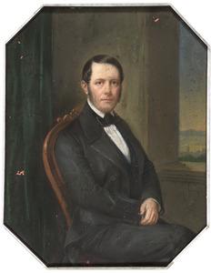 Portret van Nicolaas Johan Steengracht (1806-1866)