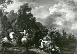 De apostel Jacobus de Meerdere in gevecht met de Moren