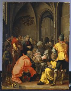 De besnijdenis (Lukas 2:21)