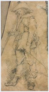Staande musketier