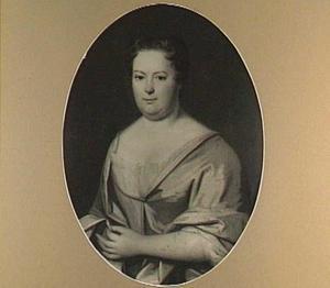 Portret van een vrouw, mogelijk Johanna Catharina de Jongh, echtgenote van Jan Caspar Nobel